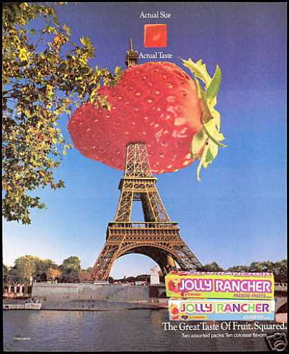 Eiffel Tower Jolly Rancher Candy Photo (1993)