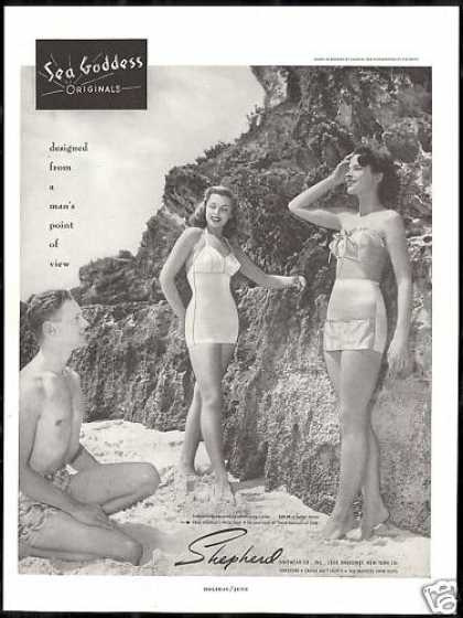 Sea Goddess Swimsuit Pretty Women Beach (1948)