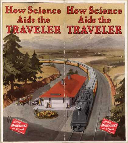 Chicago, Milwaukee & St. Paul Railway's Chicago, Milwaukee and St. Paul Railway – How Science Aids the Traveler
