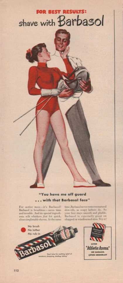 Barbasol Brushless Shaving (1949)