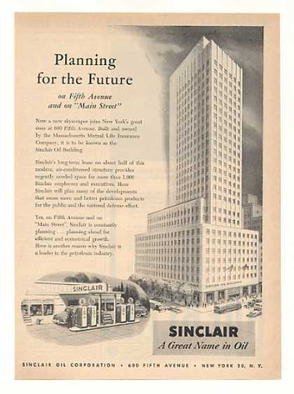 Sinclair Oil Building 600 Fifth Ave New York (1951)