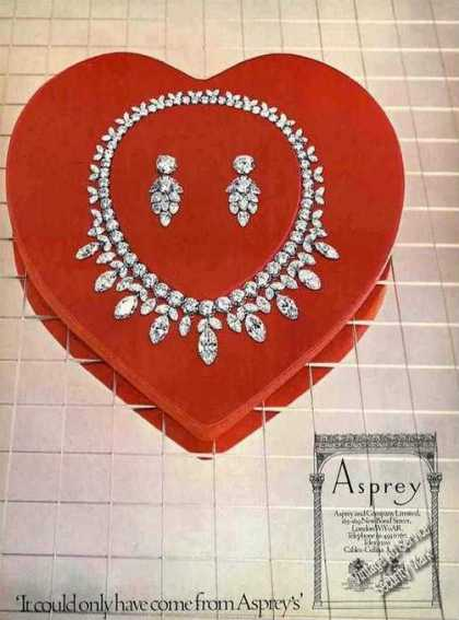 Diamond Jewelry Photo Asprey Uk (1974)