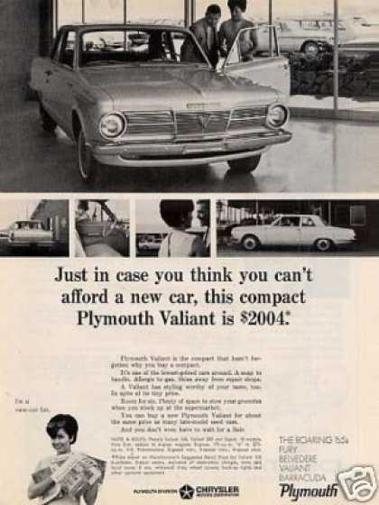Plymouth Valiant Car (1965)