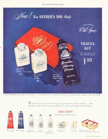 Shulton Old Spice Travel Kit (1949)