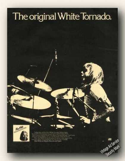 Alan White Photo Ramshackled Album Promo Music (1976)