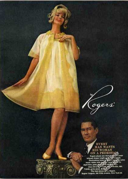 Rogers Gown & Peignoir Collectible Fashion (1960)