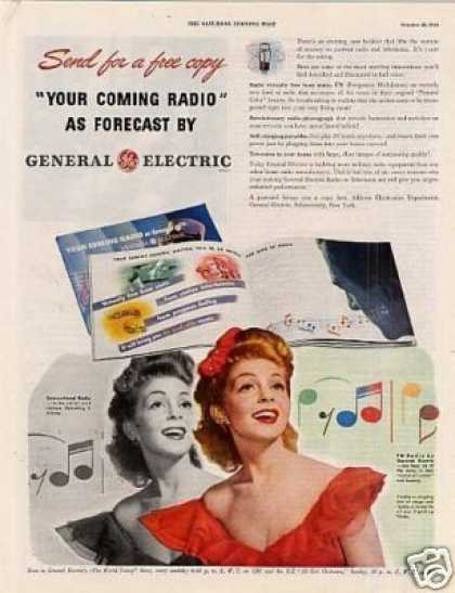 General Electric Radio Ad Yvette (1944)