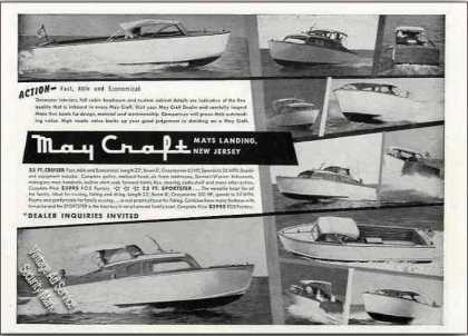 May Craft Boat Photos Mays Landing Nj (1955)