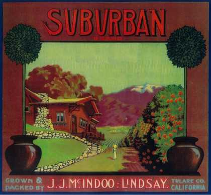 Suburban Orange Label – Lindsay, CA