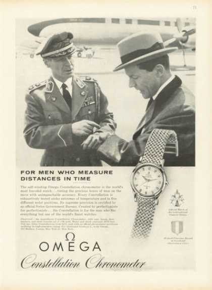 Omega Constellation Chronometer Watch (1958)