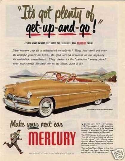 Mercury Convertible Car (1948)