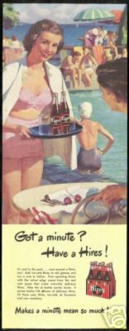 Pretty Woman Swimsuit Pool Hires Rootbeer (1949)