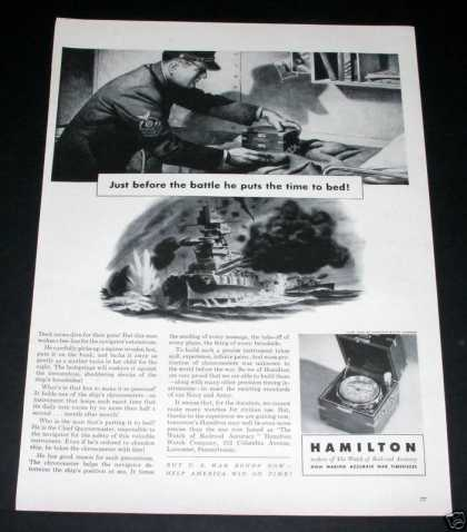 - Hamilton Watches, Wartime Duty (1943)