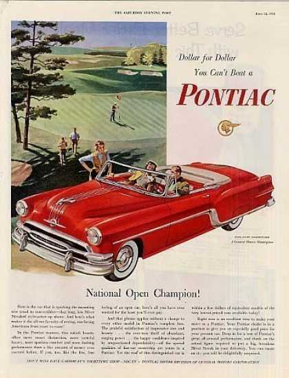 Pontiac Star Chief Convertible (1954)