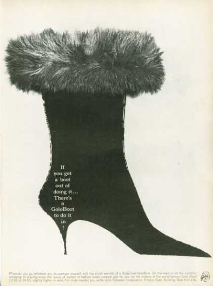Golo Boot Borg-lined Fashion Boot (1961)