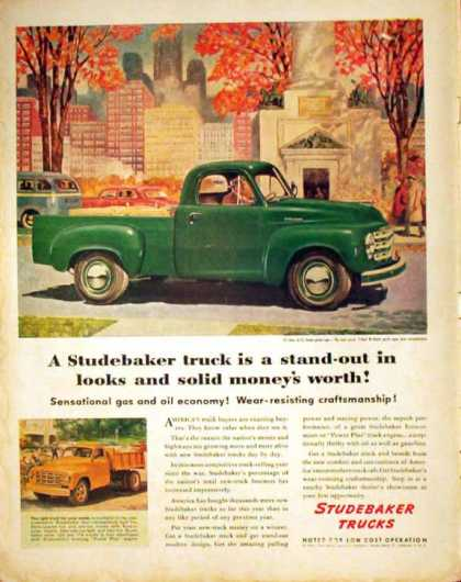 Studebaker Truck – Half-Ton Pick-up – Sold (1949)