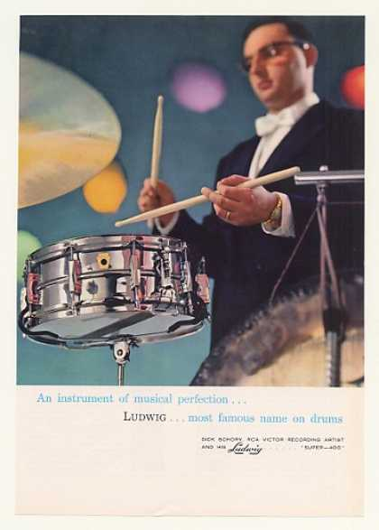 Dick Schory Ludwig Drums Photo (1963)