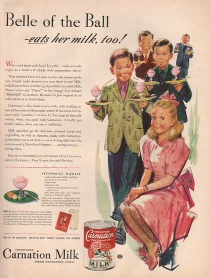 Belle of the Ball Carnation Milk (1942)