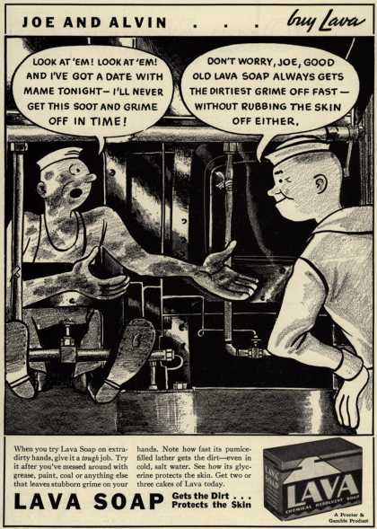 Procter & Gamble Co.'s Lava Soap – Joe and Alvin... Guy Lava (1936)