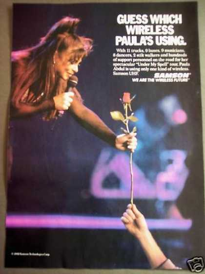Paula Abdul Samson Wireless Uhf Music (1992)