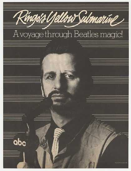 Ringo Starr Yellow Submarine ABC Radio 2P Photo (1983)