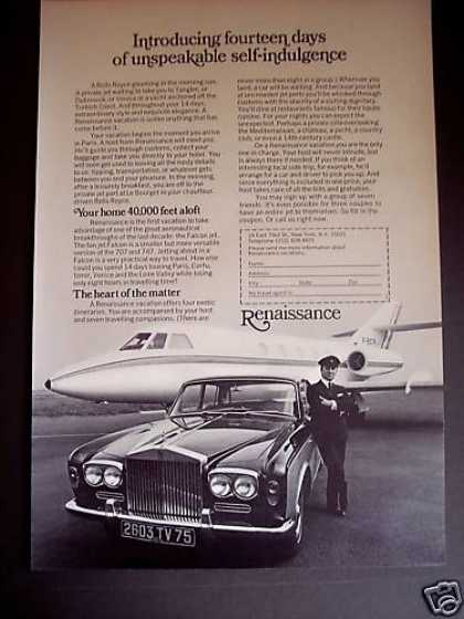 Rolls Royce Chauffeur Renaissance Vacations (1971)