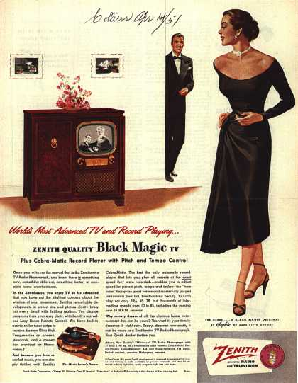 Zenith Radio Corporation's Radio Phonograph Television – World's Most Advanced TV and Record Playing (1951)