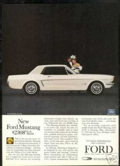 Ford Mustang Hardtop Photo Vintage (1964)