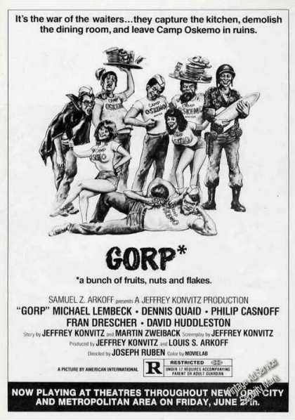 """Gorp"" Movie (1980)"