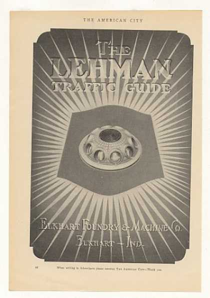 Elkhart Foundry Lehman Traffic Guide (1925)