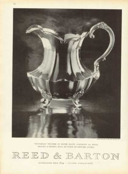 Reed & Barton Silver Plate Pitcher (1959)