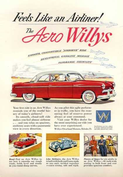 Aero Willys Like an Airliner (1953)