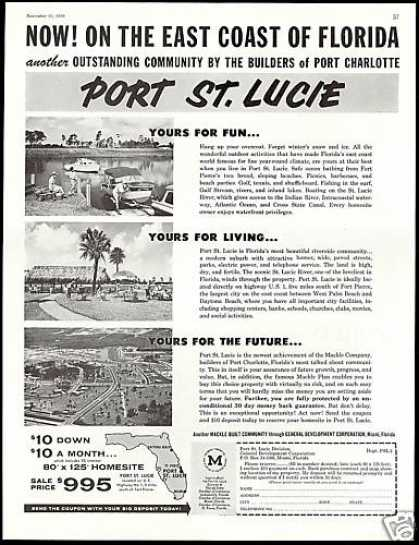 Port St Lucie Florida Homesite&#8217;s Photo (1958)