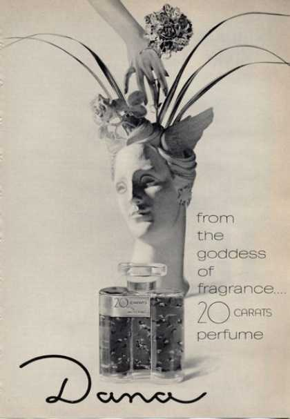 Dana 20 Carats Perfume Bottle (1965)