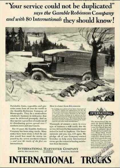 International Trucks Gamble-robinson Antique (1929)