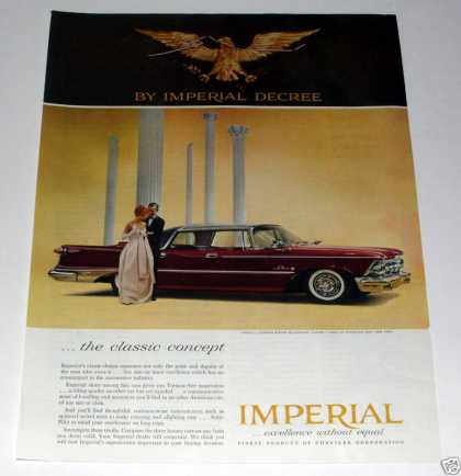 Chrysler, Imperial, Imperial Decree (1959)
