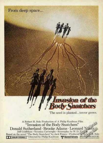 Invasion of the Body Snatchers Movie (1979)