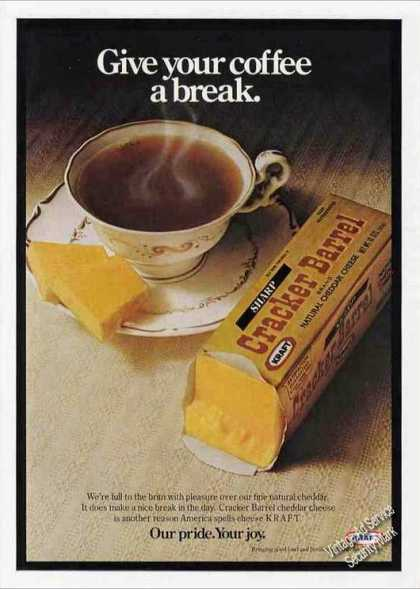 Cracker Barrel Cheese With Coffee Nice (1978)