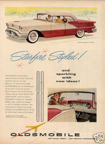 Oldsmobile Super 88 Holiday Sedan (1956)