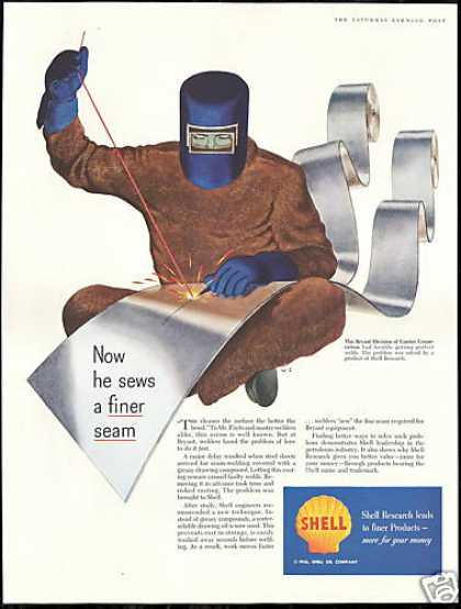 Bryant Seam Welding Welder Shell Oil (1956)
