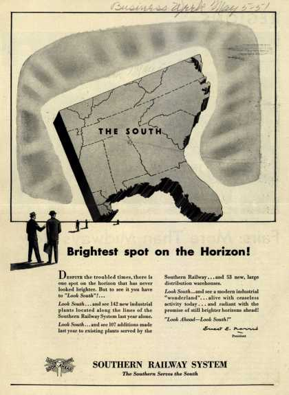 Southern Railway System – Brightest spot on the Horizon (1951)