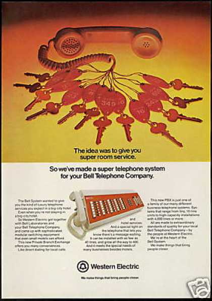 Western Electric Bell Telephone Company (1974)
