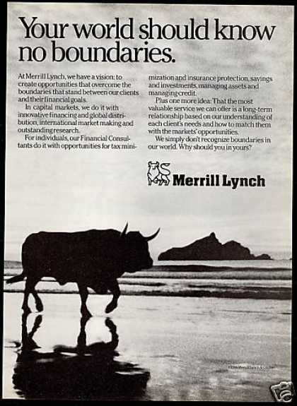 Merrill Lynch Financial Consultants Bull (1987)