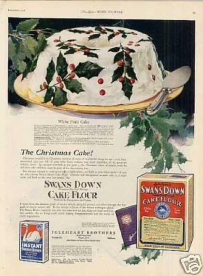 Swans Down Cake Flour Color (1921)