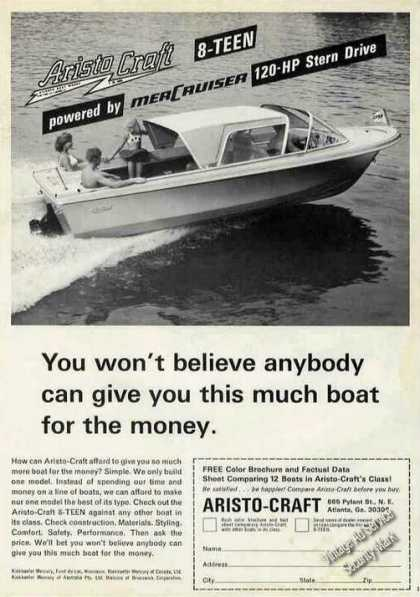 Aristo-craft 8-teen Boat Photo Atlanta Ga (1967)