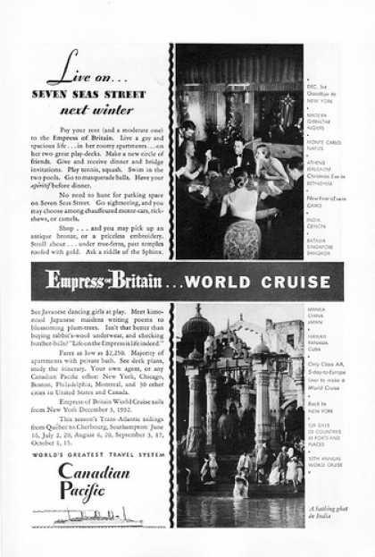 Vintage Travel And Tourism Ads Of The 1930s Page 8