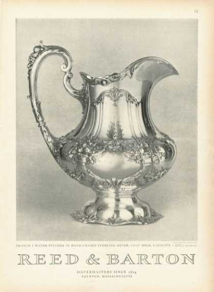 Reed & Barton Sterling Silver Pitcher (1955)