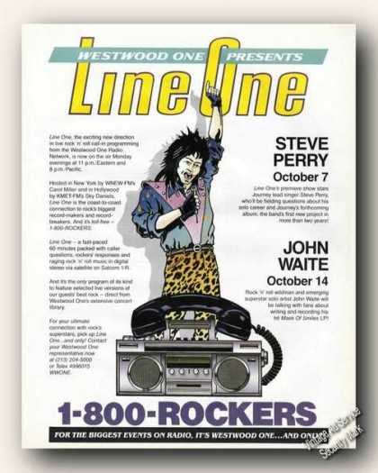 Westwood One Radio Network Line One Promo (1985)