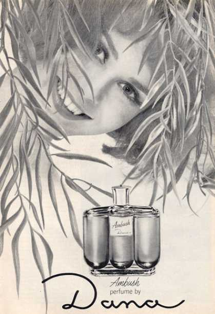Dana Ambush Perfume Bottle (1964)