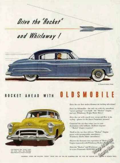 "Oldsmobile 98 Art ""Drive the Rocket"" Car (1950)"
